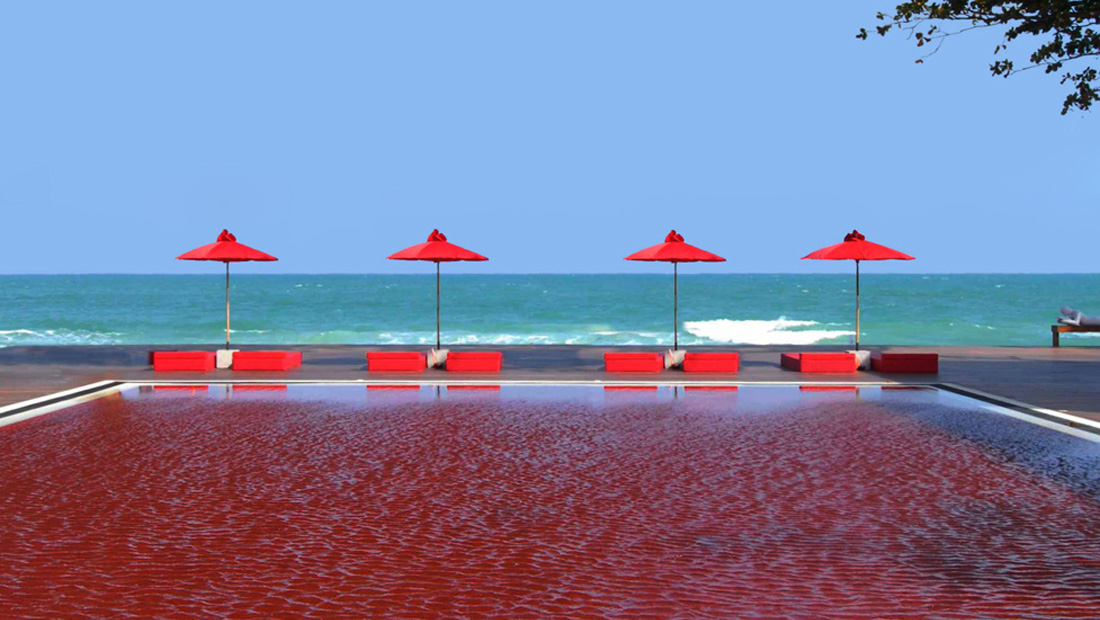 The-Library-Koh-Samui-Boutique-Resort-Chaweng-Beach-Red-Swimming-Pool-1