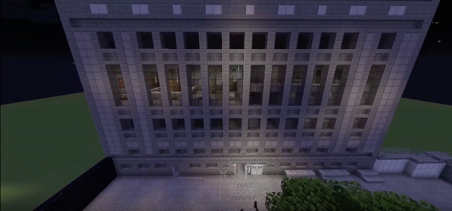 Berghain in Minecraft1