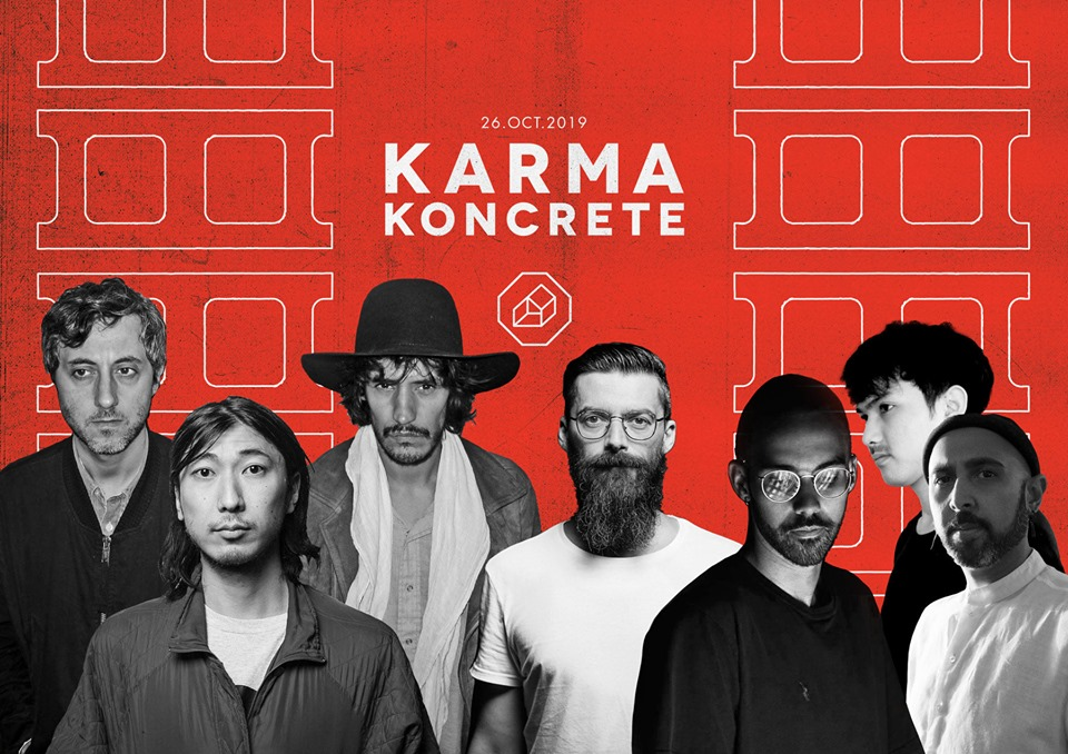 Line up karma Koncrete 1